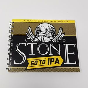 Stone Brewing Beer Carton Recycled Notebook ♻️